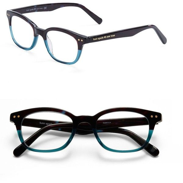 bd5f5f8d7d37 Kate Spade New York Rebecca 49mm Reading Glasses ($68) ❤ liked on Polyvore  featuring accessories, eyewear, eyeglasses, glasses, reading glasses, kate  spade ...