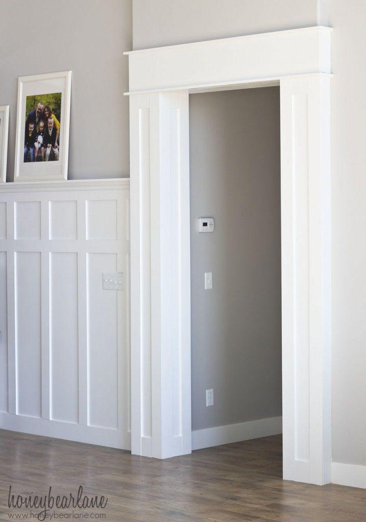 DIY Doorway Trim | Home remodeling diy, Basement ...