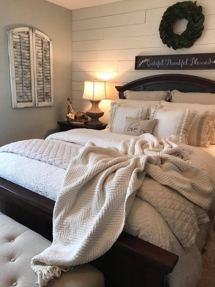 Wall Decor Home Bedroom Farmhouse Style Master Bedroom