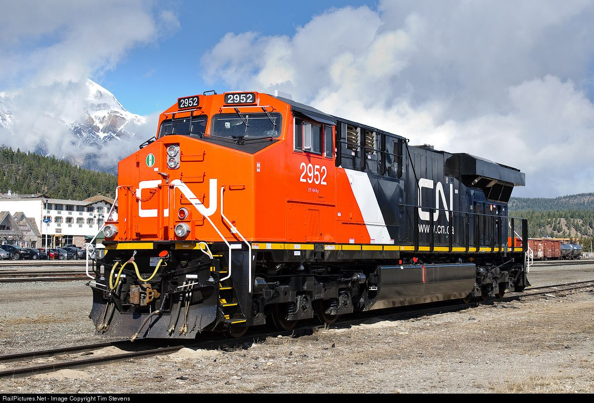 RailPictures Net Photo: CN 2952 Canadian National Railway GE