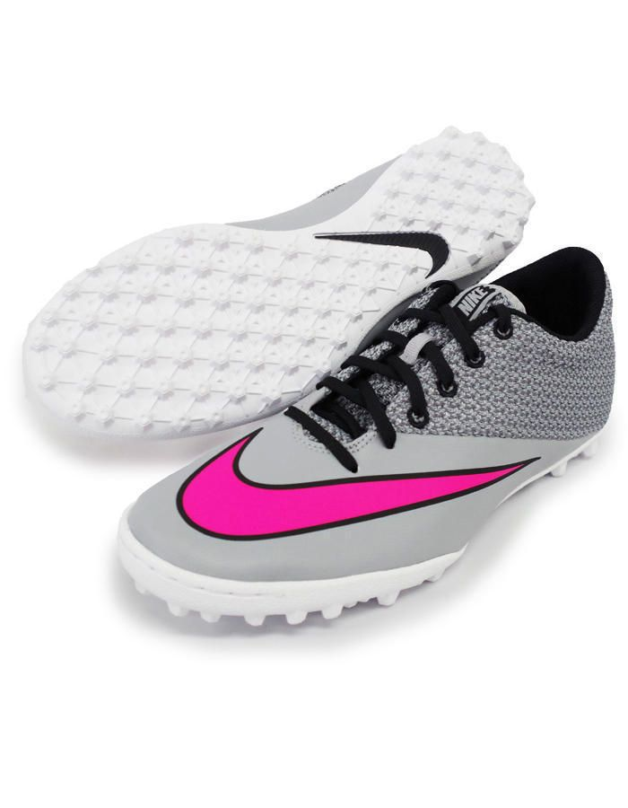 Football boots shoes Nike Cleats Mercurial X Pro Grey Turf Trainers 2015.