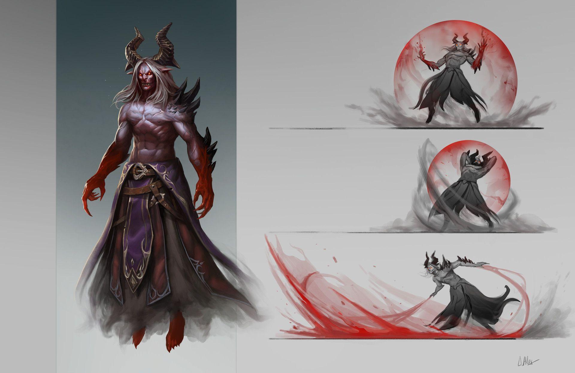 ArtStation - Vampire Demon Concept, Dinulescu Alexandru