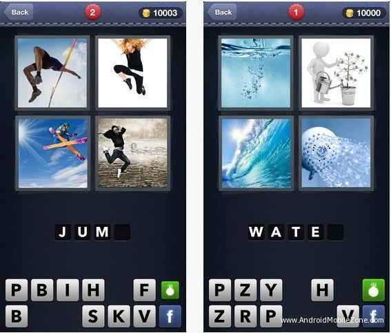 4 pics one word download