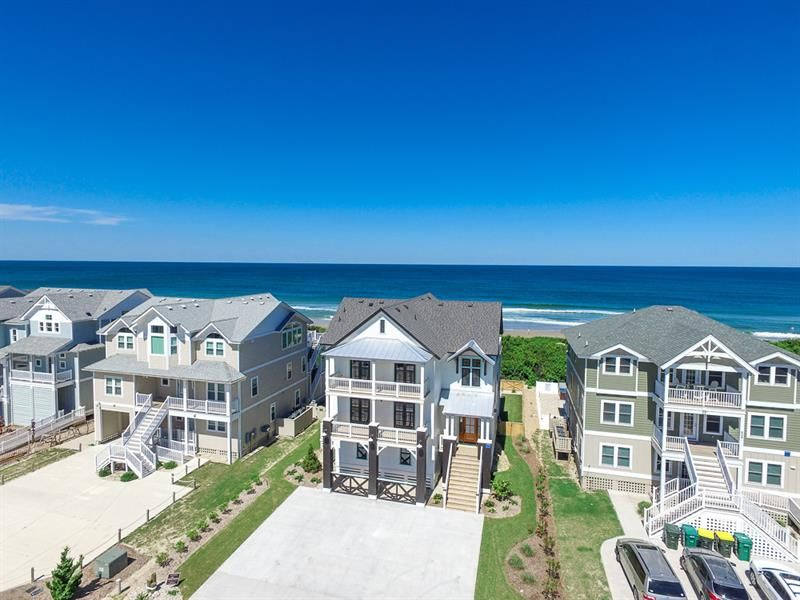 American searocket a 9 bedroom oceanfront vacation rental on the outer banks nc