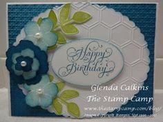 Gladsome Garden Birthday Card Trio