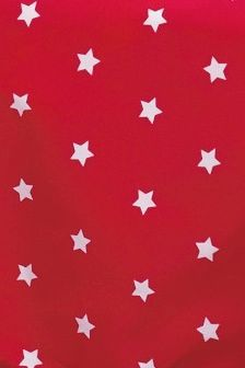 Red Star Single Fitted Sheet Set