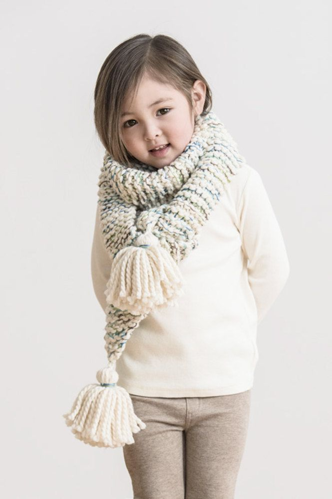 Frosting Fringe Scarf in Spud & Chloe, a cozy accessory for your ...