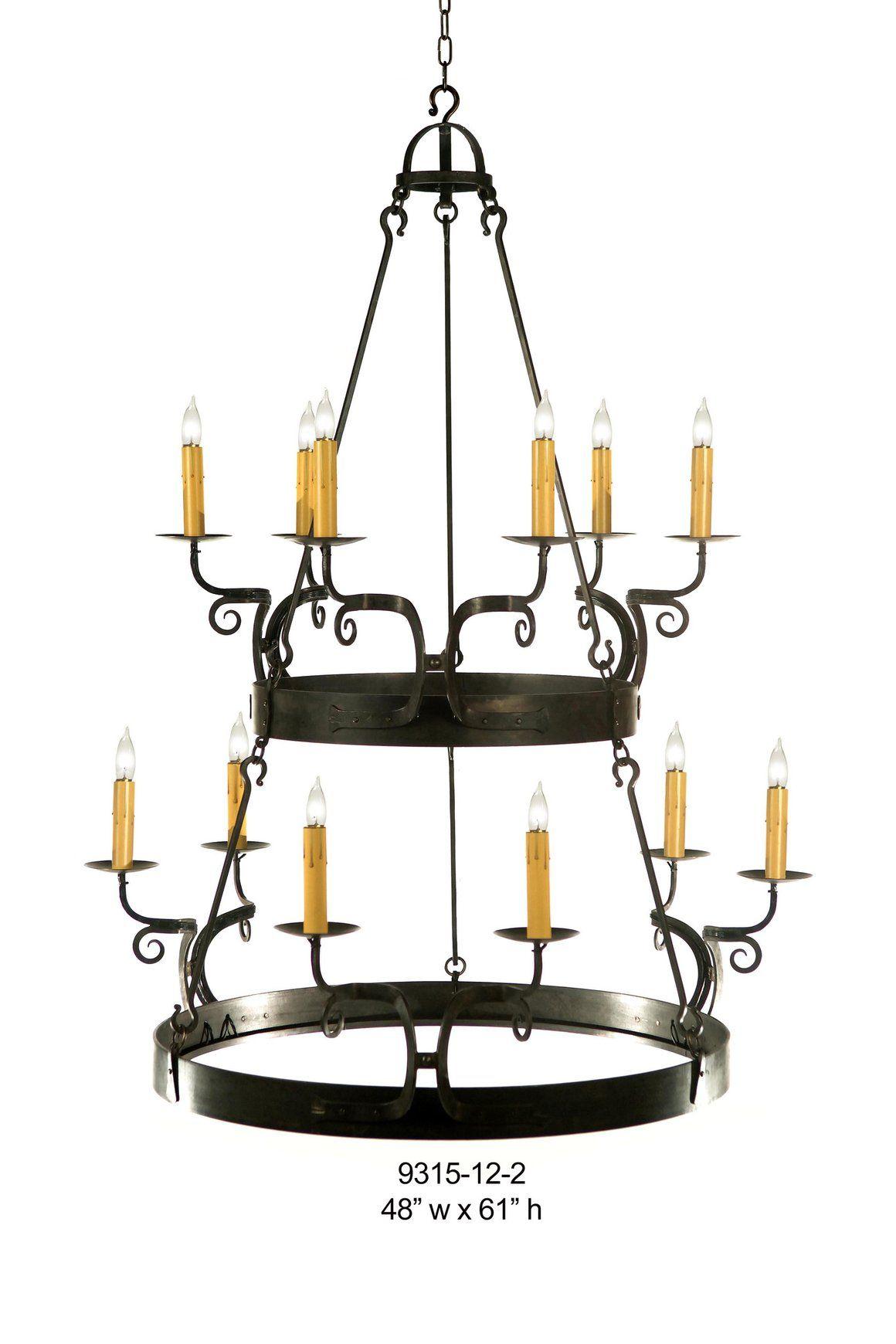 Other metal chandelier 9315 12 2chandelier grahams lighting memphis tn