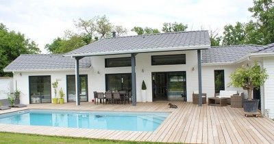 Un air de loft pour une maison bois près de Bordeaux   Maison Bois ...