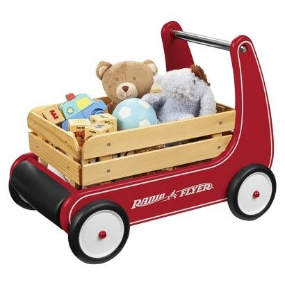 Radio Flyer Classic Walker Wagon Cool Gifts For Kids Cool Toys Toddler Toys