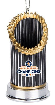 Houston Astros 2017 World Series Champions Resin Trophy Ornament Br Less Than 20 Left Red Sox World Series Boston Red Sox World Series