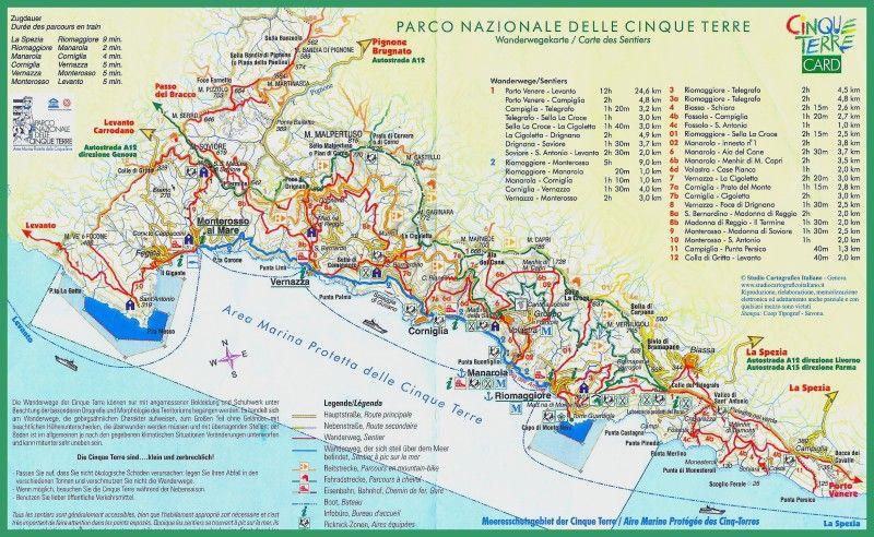 Voyage A Cinque Terre La Riviera Ligure Du Levant En Italie