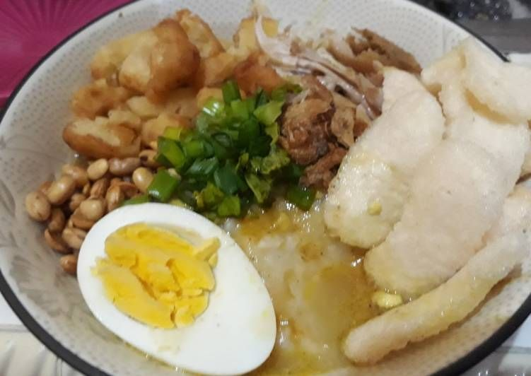 Resep 28 Bubur Ayam Jakarta Kuah Kuning Oleh Suci Handayani Resep Resep Masakan Indonesia Resep Memasak