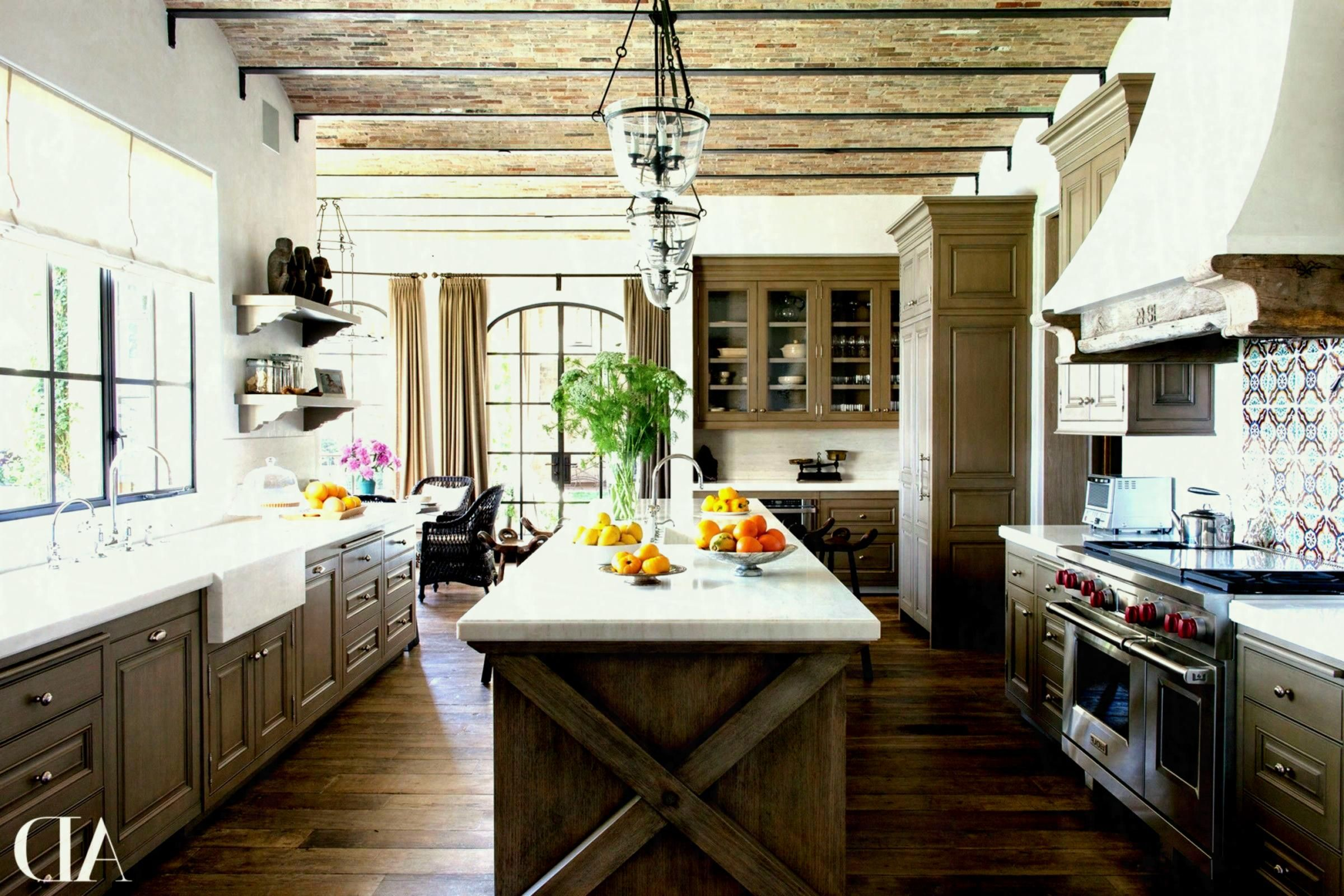 Rustic White Kitchen Cabinets Modern Farmhouse Kitchens Elegant