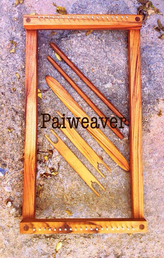 Portable Weaving Loom Kit Hand Weaving | Pinterest