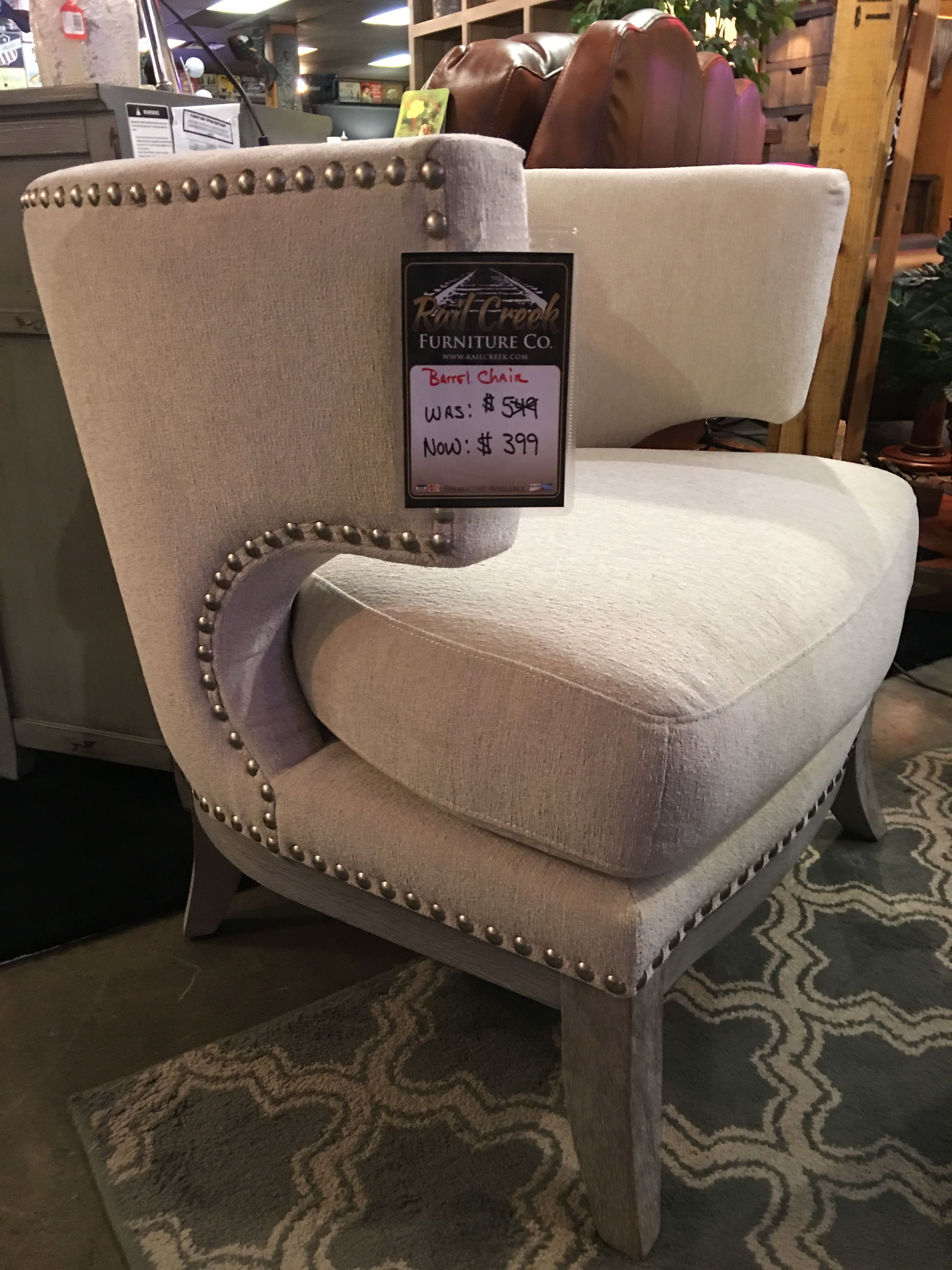 Just The Right Size Accent Chair Rail Creek Furniture Co
