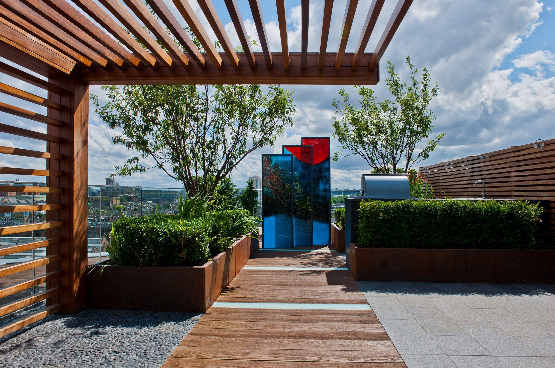 15 Marvelous Rooftop Garden Design To Improve Your Home Style Outdoor Pergola Roof Garden Design Rooftop Patio Design