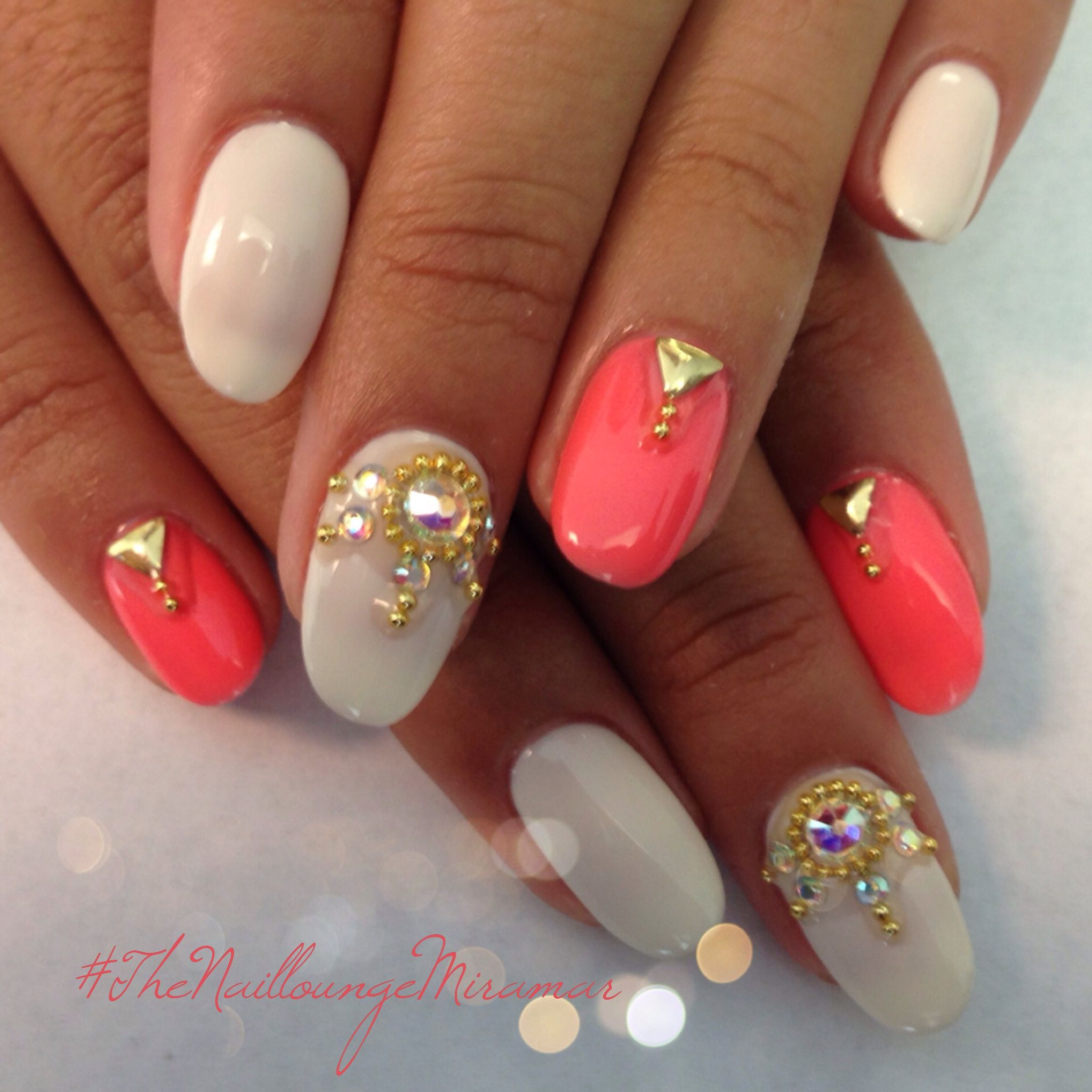 Indian Wedding Gel Nail Art