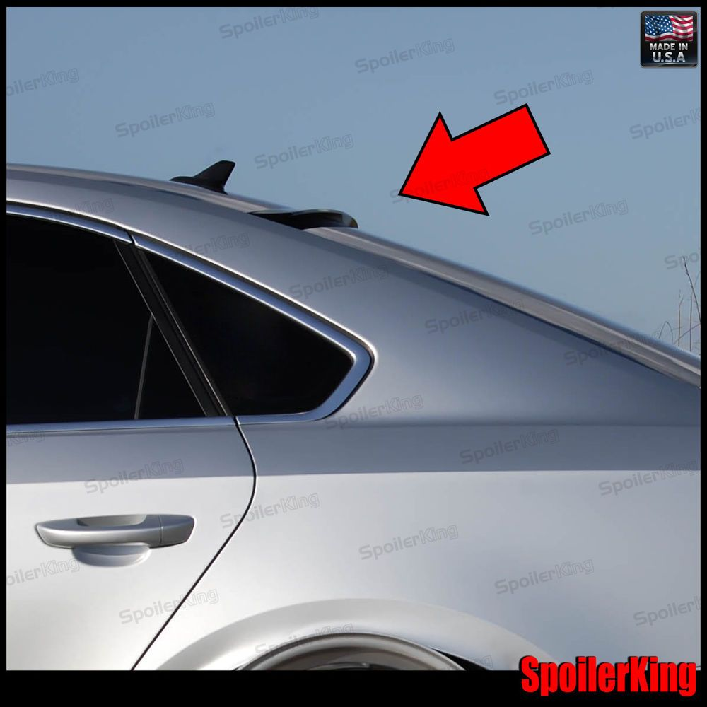 StanceNride Rear Roof Spoiler Window Wing (Fits: Volkswagen Passat 2012-on B7) #SPKDepot