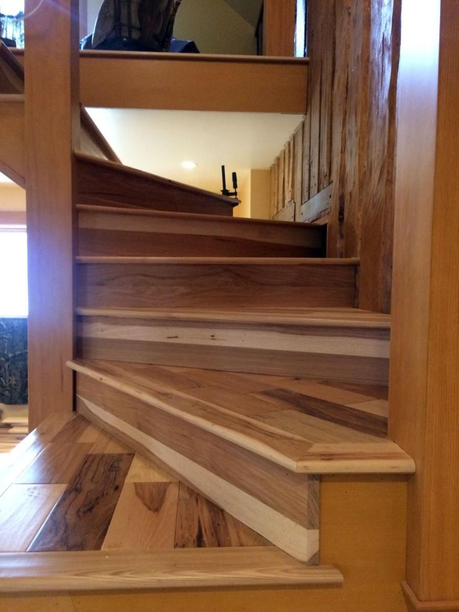 Best Stair Trim Out 5 —Installing Treads And Risers 400 x 300