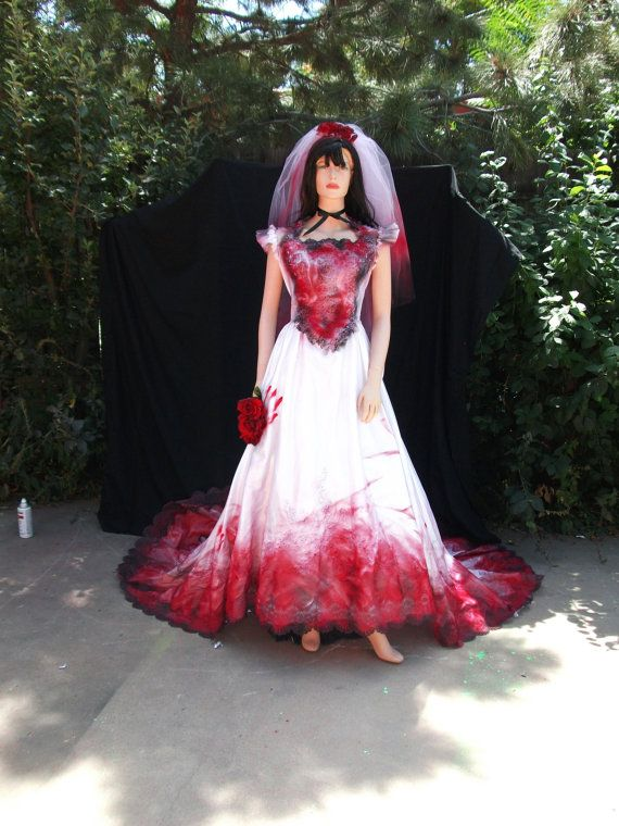 Bloody Vampire Countess Bride Southern Belle by ChaoticCouture22 ...