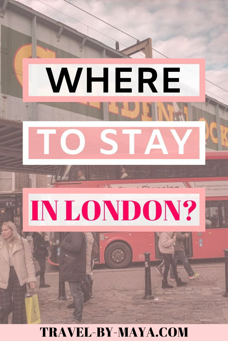 Where to stay in London?! These are the best affordable hotels in London for traveling on a budget! #travelonadbudget #traveltips #travellondon