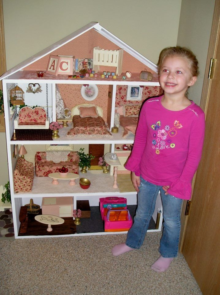 Barbie Bedroom In A Box: Home-made Barbie Doll House