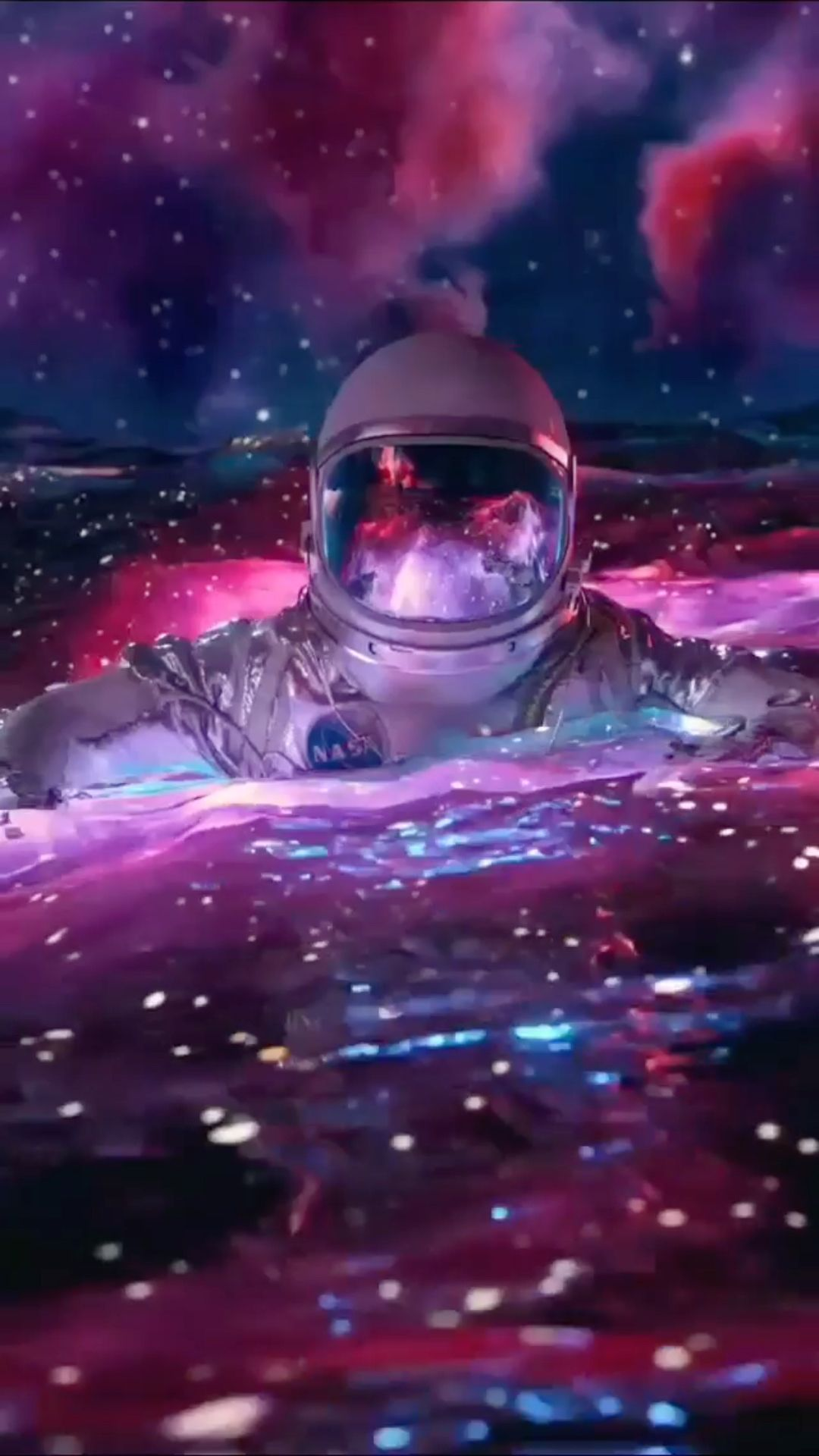 Space Floating 🧑🚀