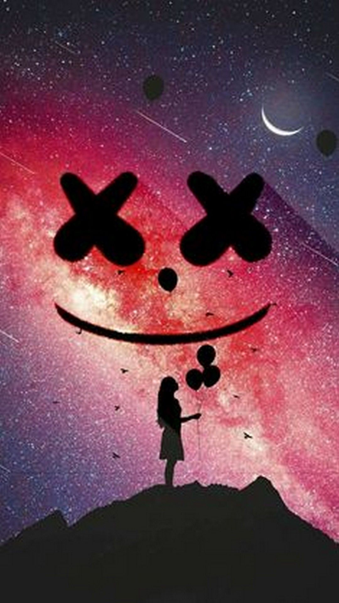 Marshmello i Phones Wallpaper in 2020 Iphone wallpaper