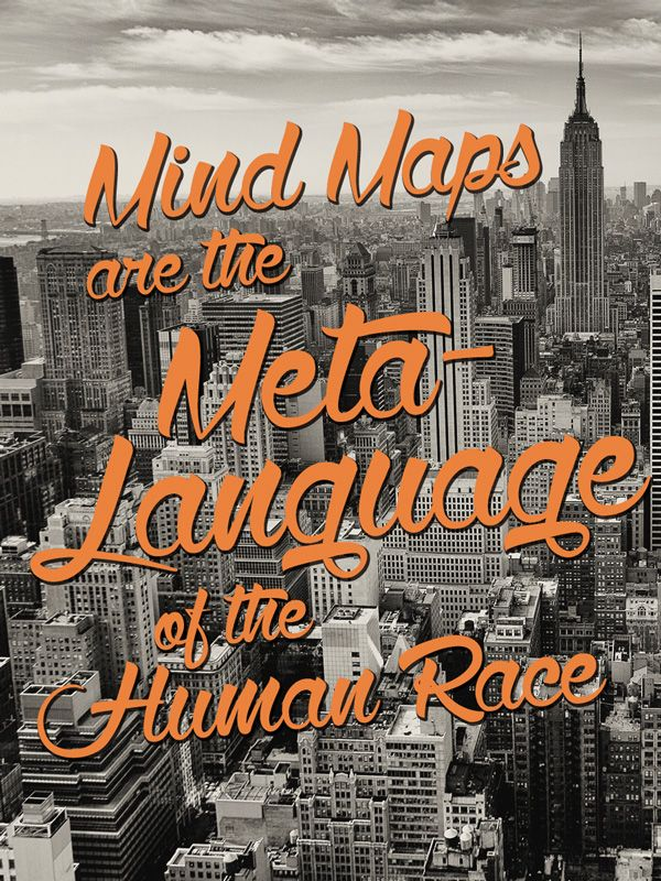 Mind Maps are the Meta-language of the race