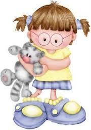 Resultado De Imagem Para Dibujos Infantiles Tiernos A Color Menina