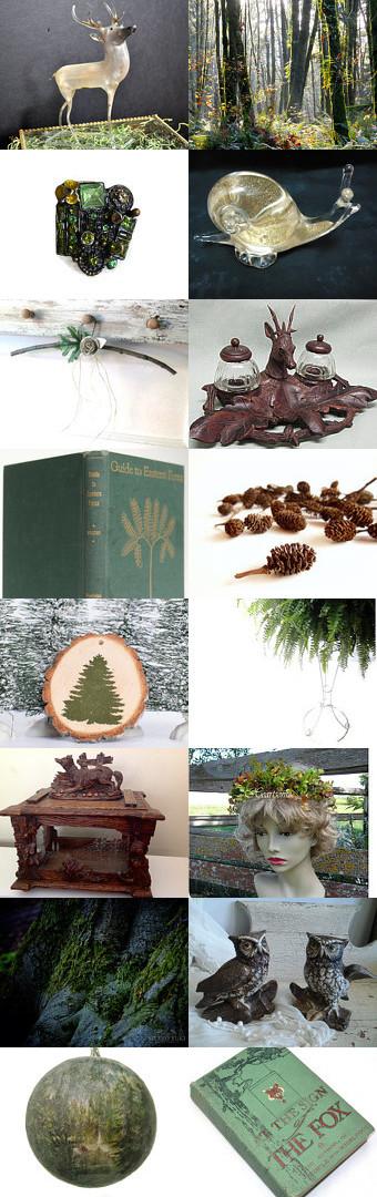 Woodland Fantasy  by Andi on Etsy--Pinned with TreasuryPin.com