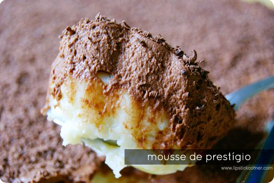 Mousse de Prestígio