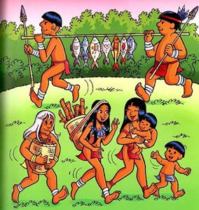 Tirinhas Indigenas Mauricio De Souza Pesquisa Google Com