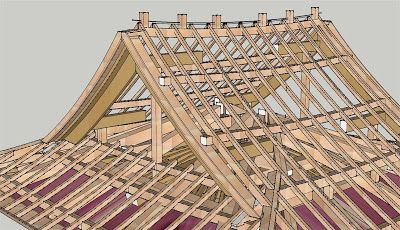 Pitched Roof Architecture Traditional