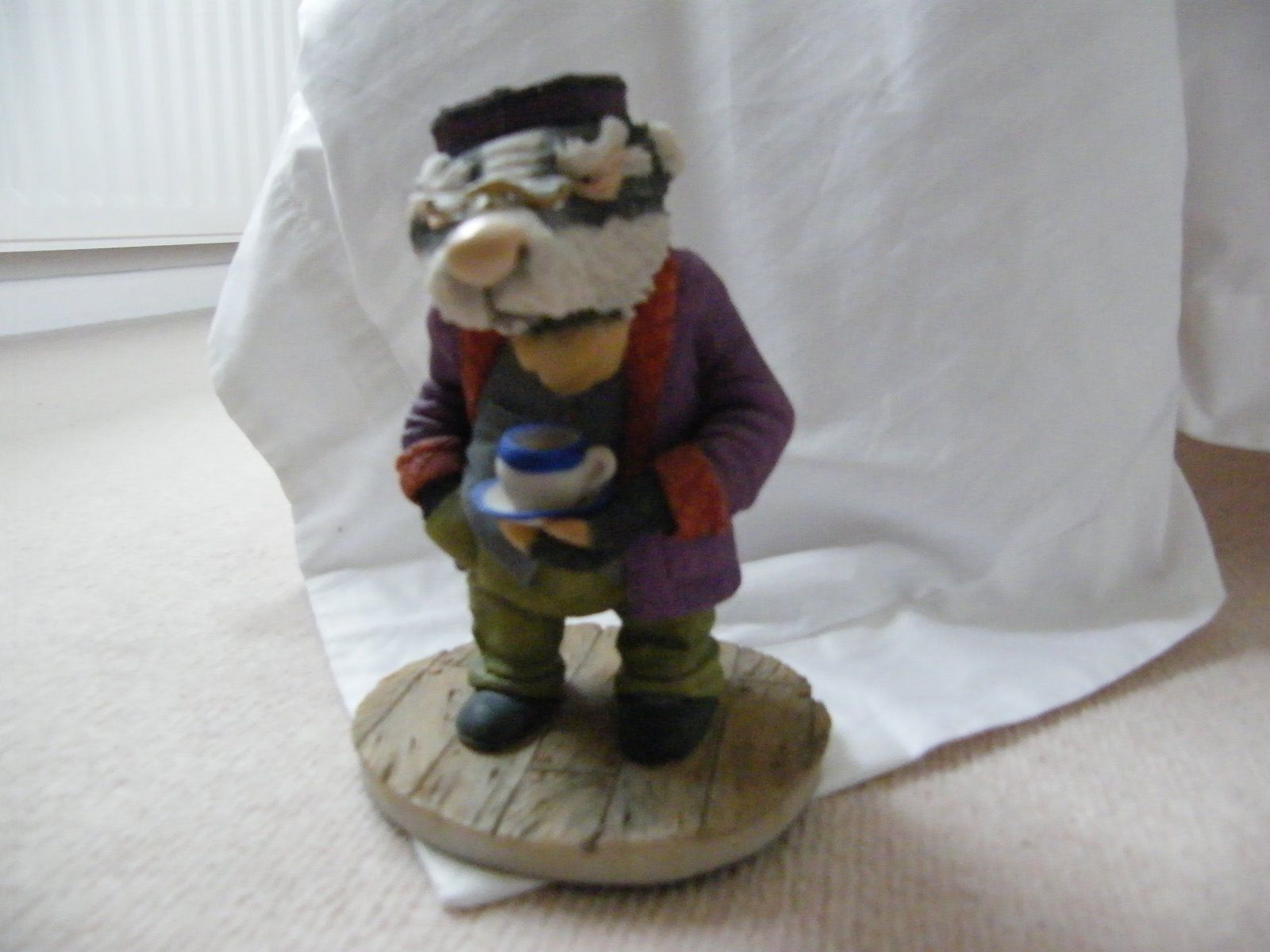 Wind in the willows ornaments - Badger Arden Sculptures For Cosgrove Hall Tv Series