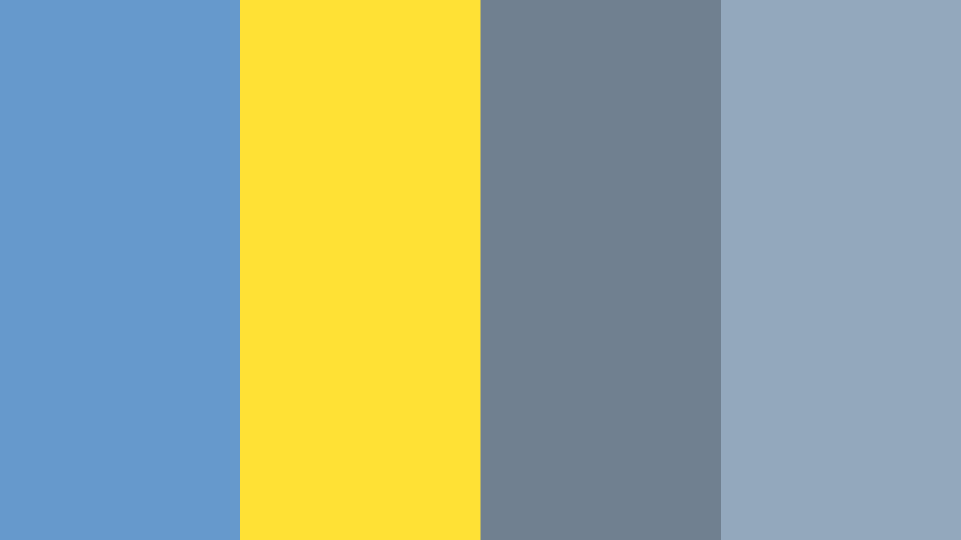 Blue Yellow Gray Color Palette In 2020 Blue Yellow Grey Color