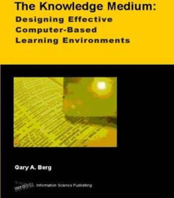 The knowledge medium designing effective computer based educational learning environments pdf also rh pinterest