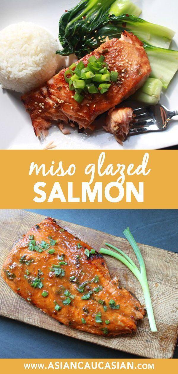 Easy Miso Glazed Salmon - Asian Caucasian Food Blog
