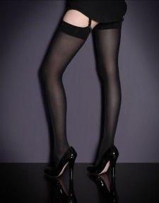 913510f2cf2 Lyra Stocking Black. Lyra Stocking Black Nylon Stockings