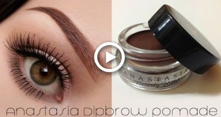 How To Use ABH Dipbrow Pomade (Eyebrow Tutorial) #eyebrowstutorial