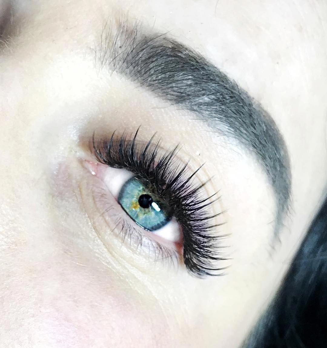 Наращивание... #Lashes | Eyelash extensions styles ...
