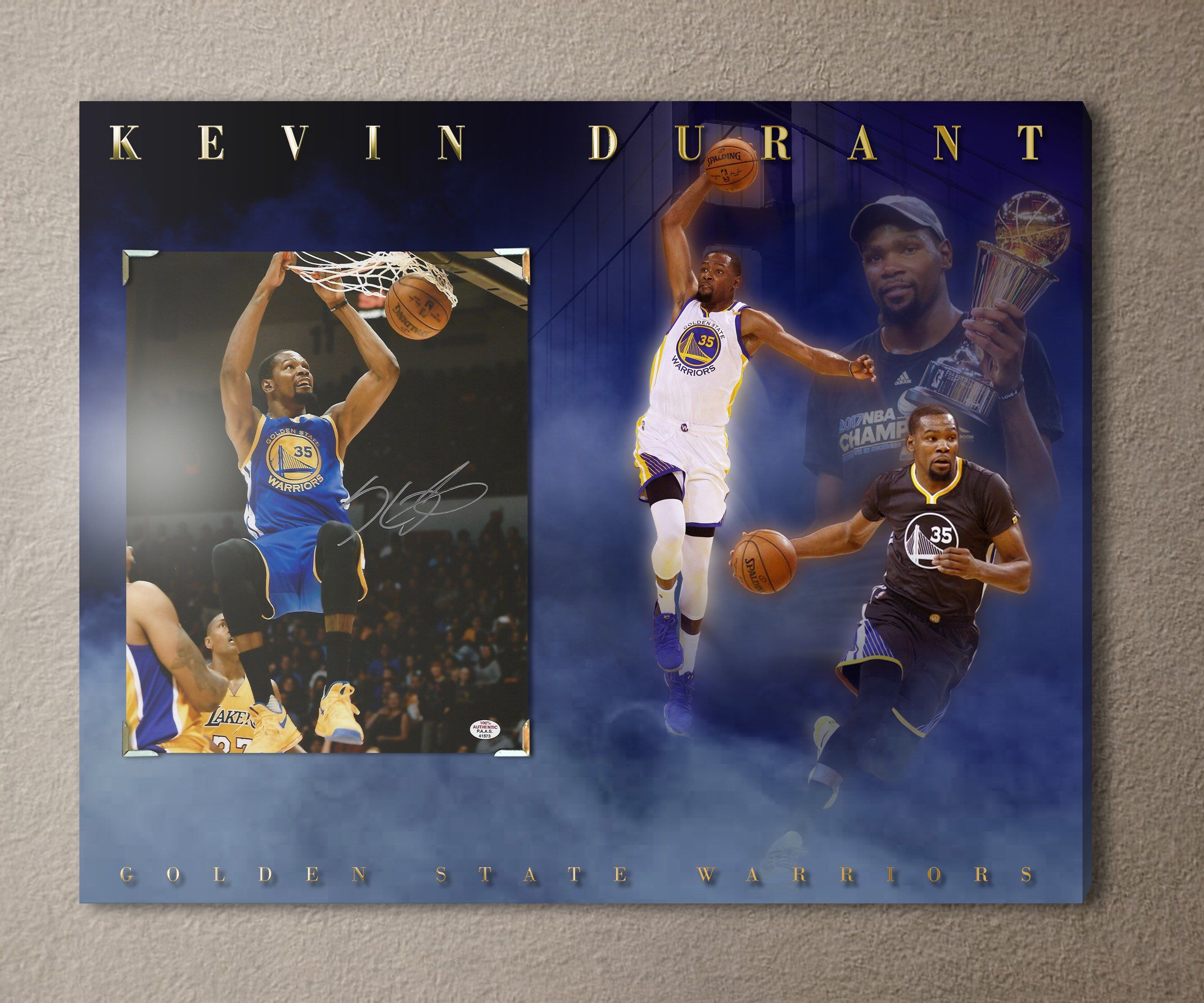 637d64026e17 Excited to share the latest addition to my  etsy shop  Golden State  Warriors superstar Kevin Durant signed autographed 8x10 photo (w  COA) on  an amazing ...