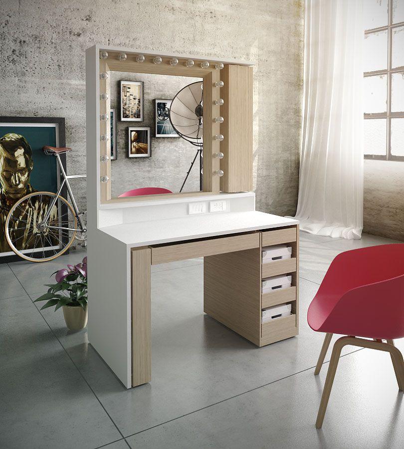 Diseño de mueble de maquillaje para cliente privado.   Tocadores ...