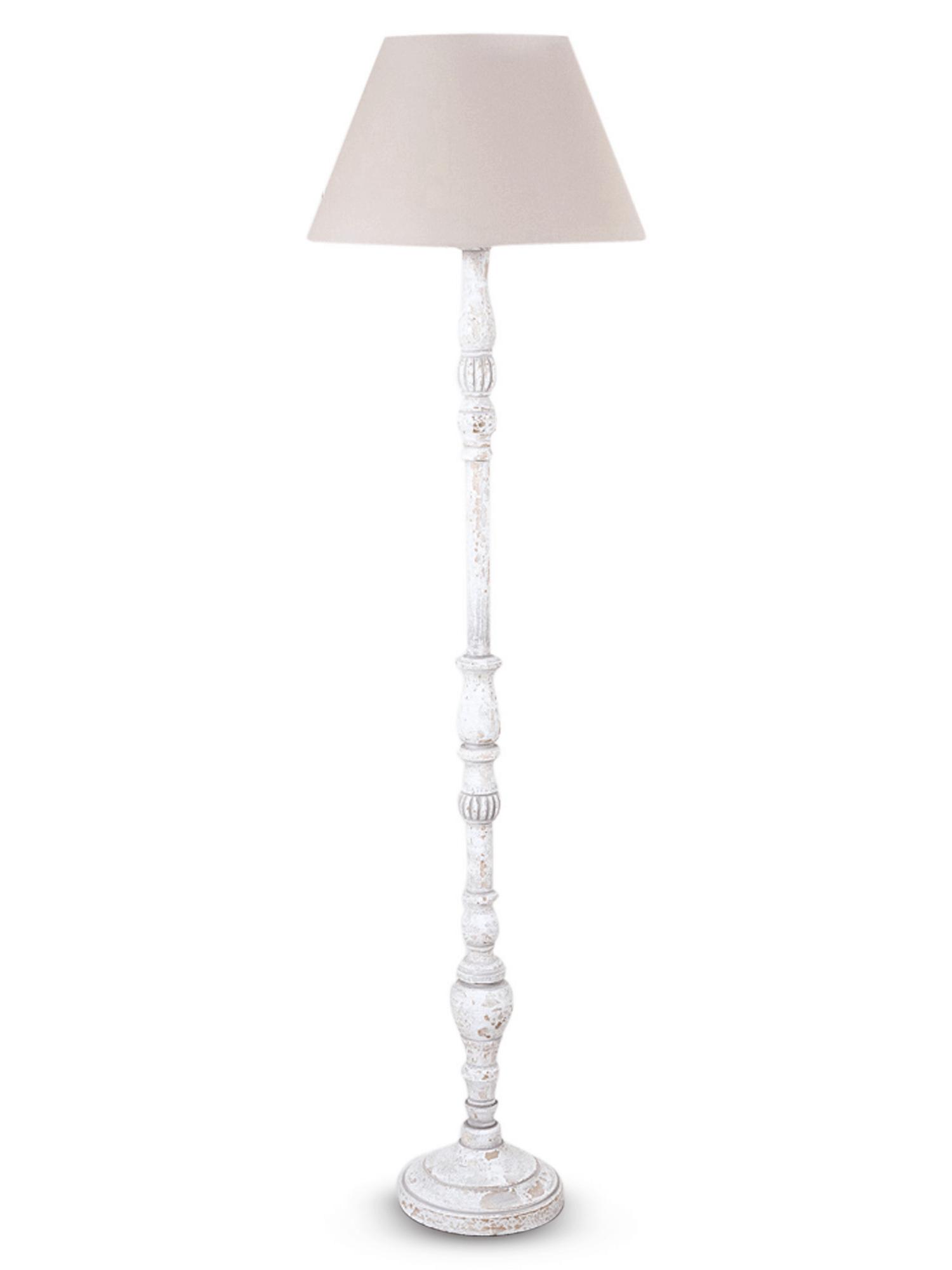 NEW Elegant White Wooden Floor Lamp Wooden floor lamps