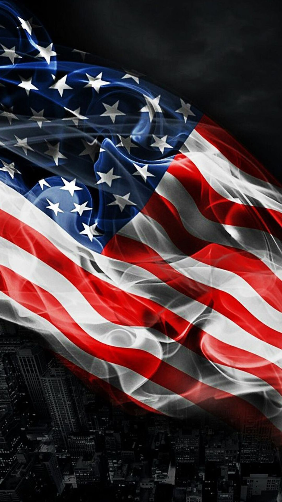 Beautiful American Flag Hd Wallpaper for Mobile (With