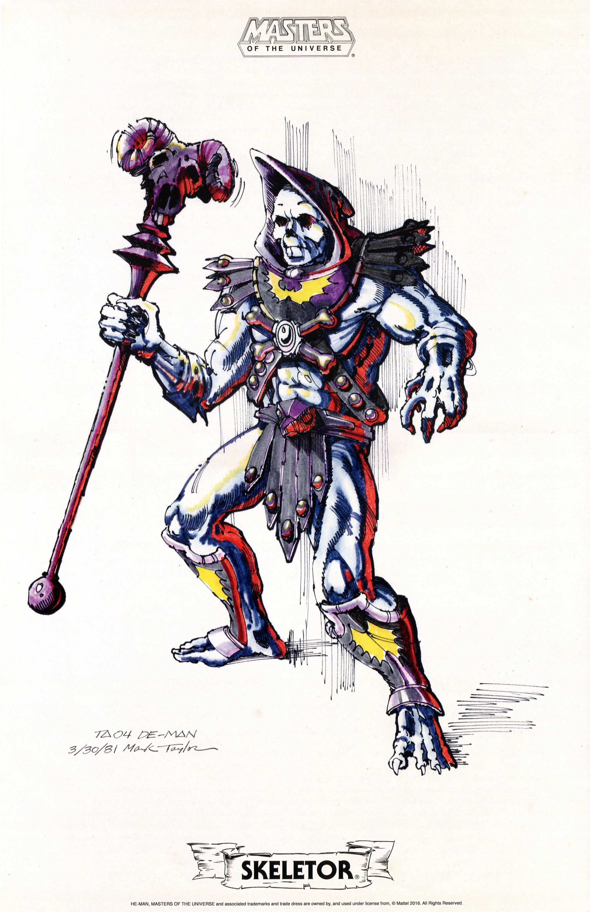 Masters of the universe concept art masters of the