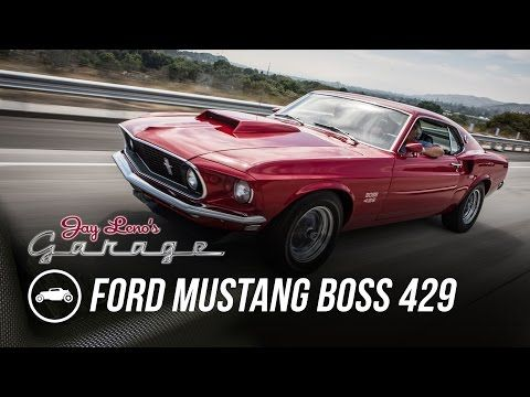 Jay Leno Goes 2 500 Hp On 2 Wheels Jay Leno S Garage Youtube With Images Ford Mustang Boss Mustang Boss Ford Mustang Models