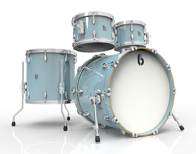 The British Drum Co Legend Fusion 22 Is A 4 Piece Drum Set With A 22 Inch Bass Drum 10 And 12 Inch Toms And A 16 Inch Floor In 2020 Drums Drum Set 4 Piece Drum Set