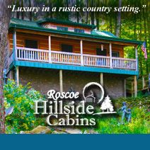 Roscoe Hillside Cabins 800 338 4724 Www Visitcoshocton Com